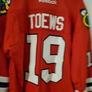 Mens Reebok Johnathan Toews NHL Jersey